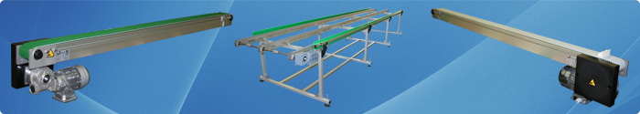 Toothed belt conveyors