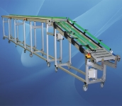 8. Modulaire kettingtransporteur met hoge frictie modules